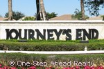 Journeys End community sign